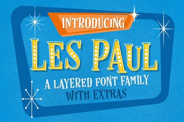 Les Paul Font Family