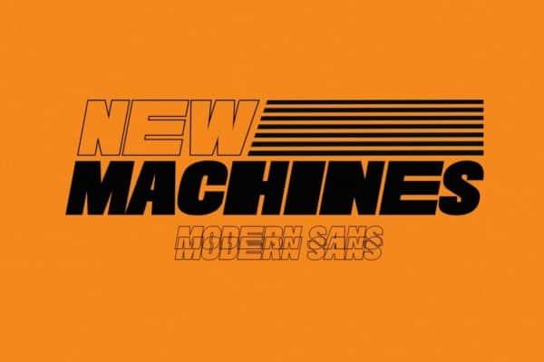 New Machines - Modern San