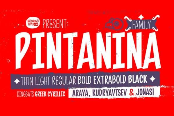Pintanina Font Family