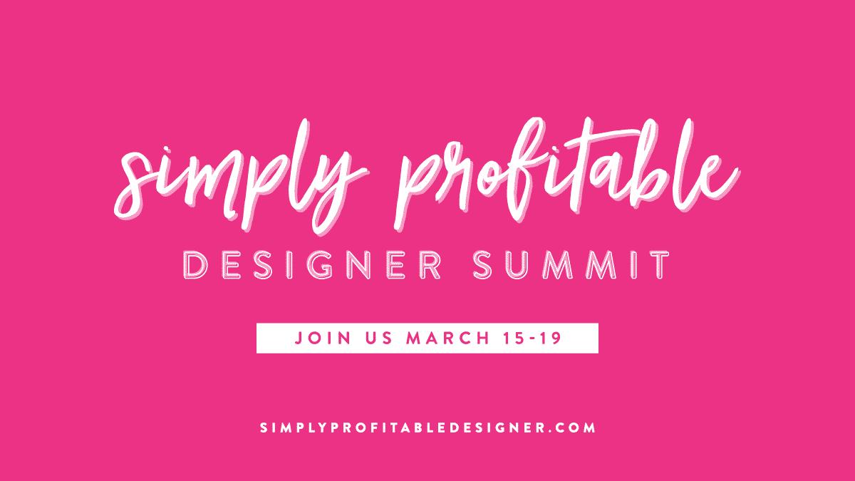 Simply Profitable Designer Summit