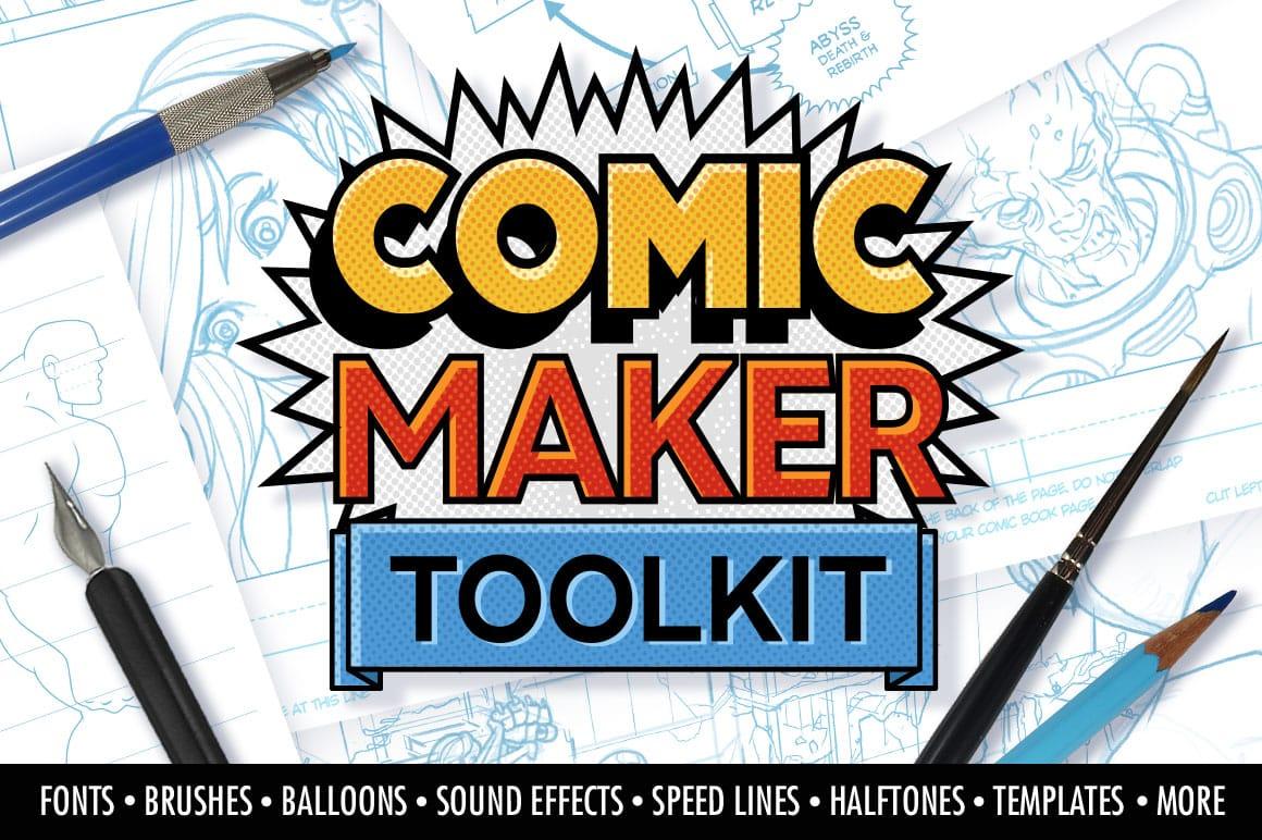 Manga Comic Book Maker Toolkit