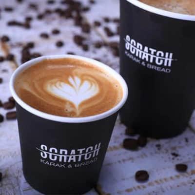 Scratch Cafe Branding