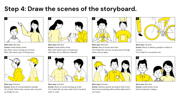 Storyboard Brainstorm Presentation