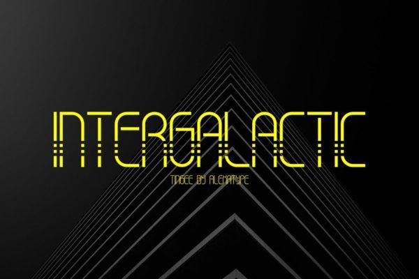 TINGEE Intergalactic Font