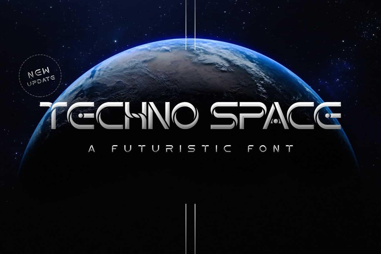 Techno Space Futuristic Font