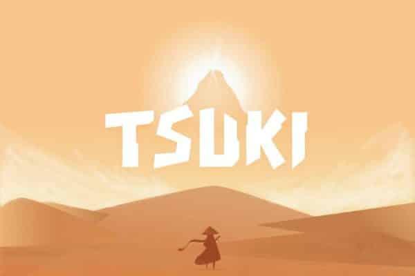 Tsuki typeface