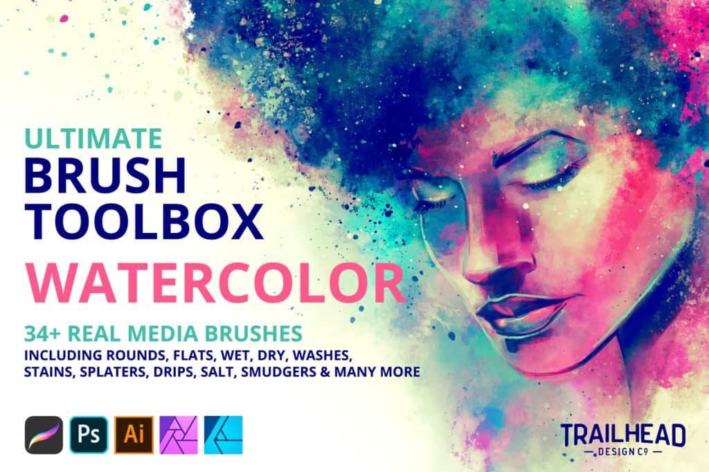 Ultimate Brush Toolbox - Watercolor
