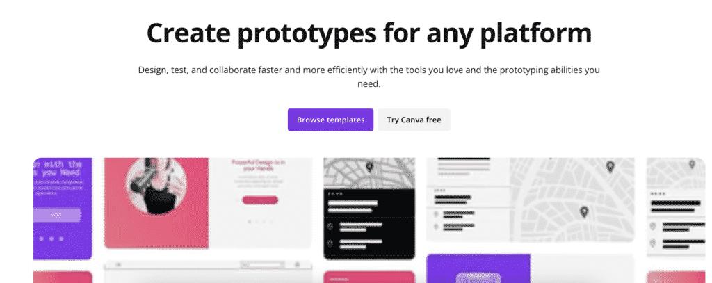 Canva Prototypes