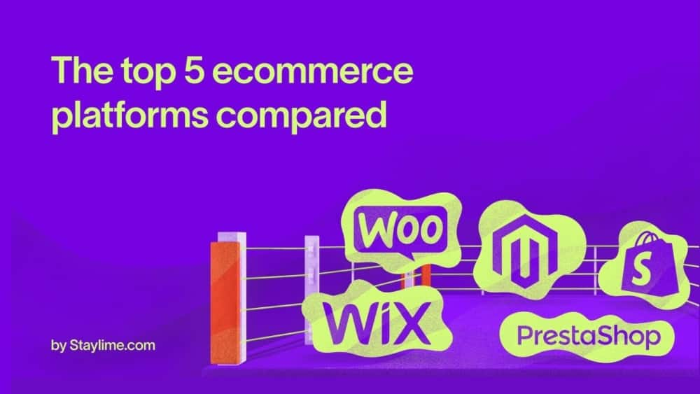 Top 5 eCommerce Platforms Compared