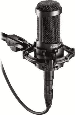 Los 10 mejores micrófonos para Pc , Streaming con un audio increíble- Audio-Technica AT2035