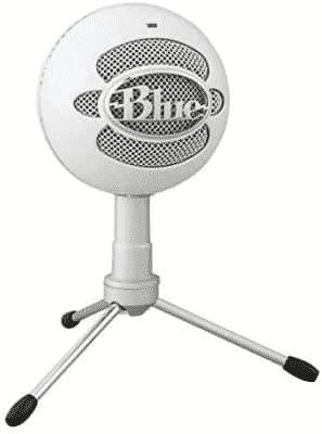 Los 10 mejores micrófonos para Pc , Streaming con un audio increíble - Micrófono de bola de nieve azul