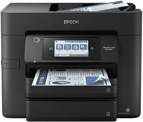 Las mejores impresoras para diseñadores gráficos - Epson WorkForce Pro WF-4830