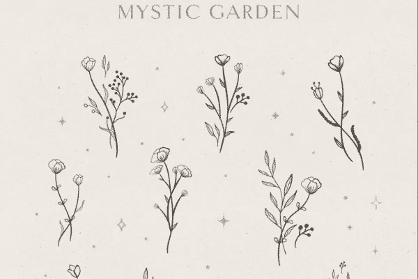 Floral Elements Illustrations