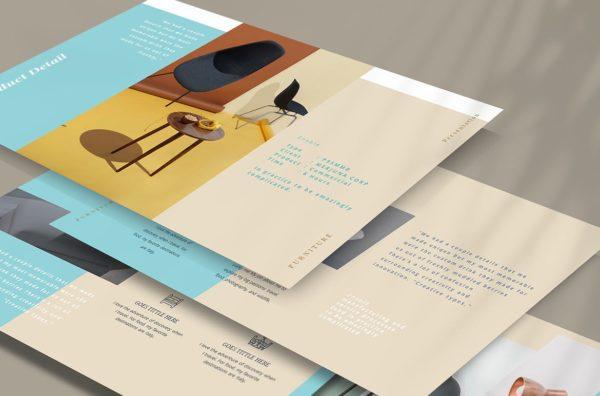 Furniture Marketing PowerPoint Template