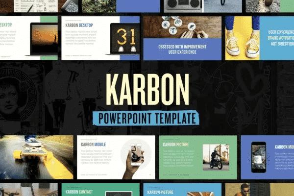 Karbon - PowerPoint Presentation Template
