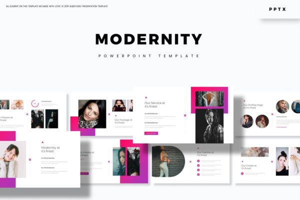 Modernity - Powerpoint Template