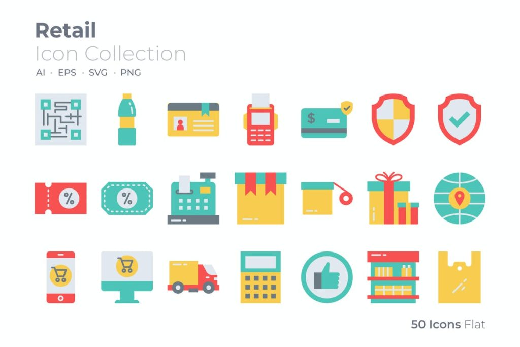 Retail Color Icon