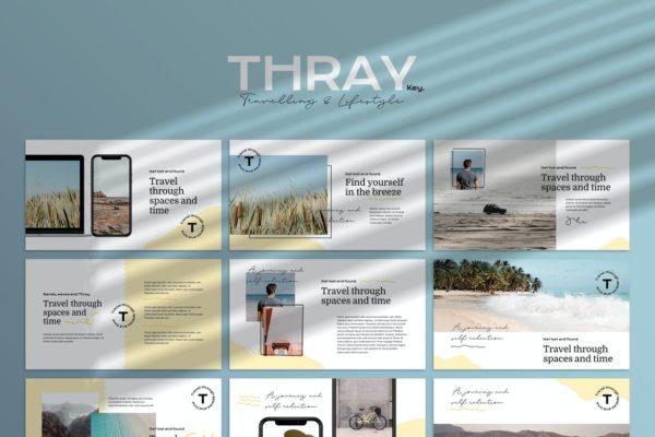THRAY - Modern Keynote Template