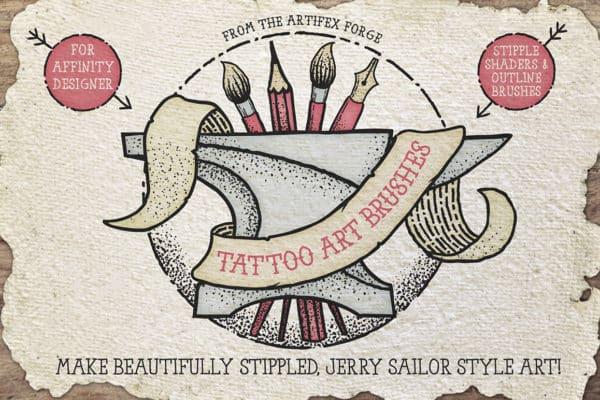 Tattoo Art – Affinity Brushes