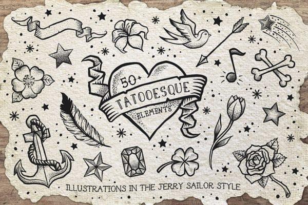Tattooesque Elements