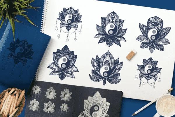 Yin Yang in Lotus