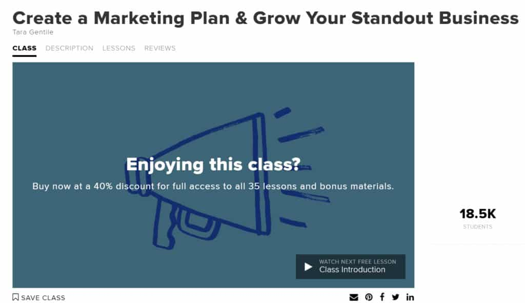 Create a Marketing Plan & Grow Your Standout Business