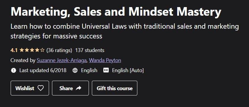 Marketing, Sales and Mindset Mastery