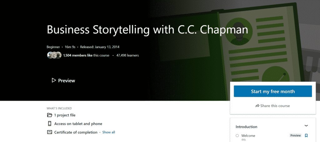 Business Storytelling with C.C. Chapman