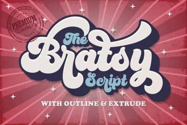 Bratsy Script