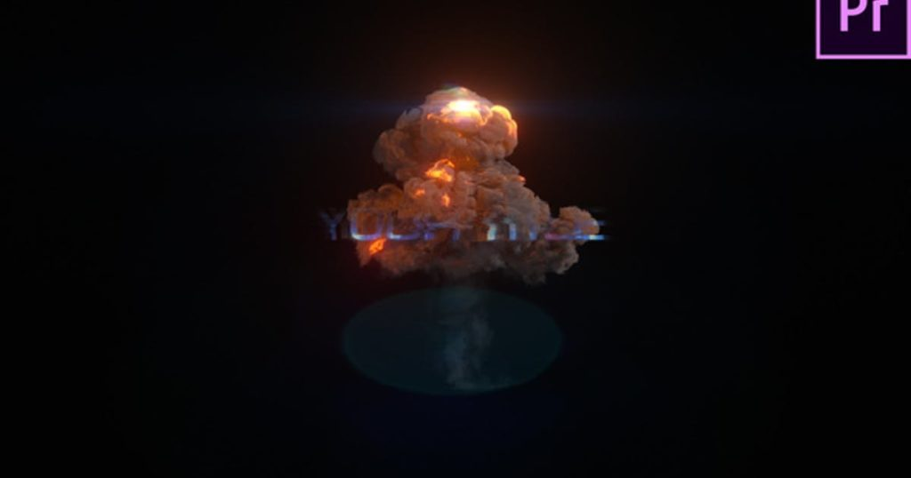 Explosion Glitch Title