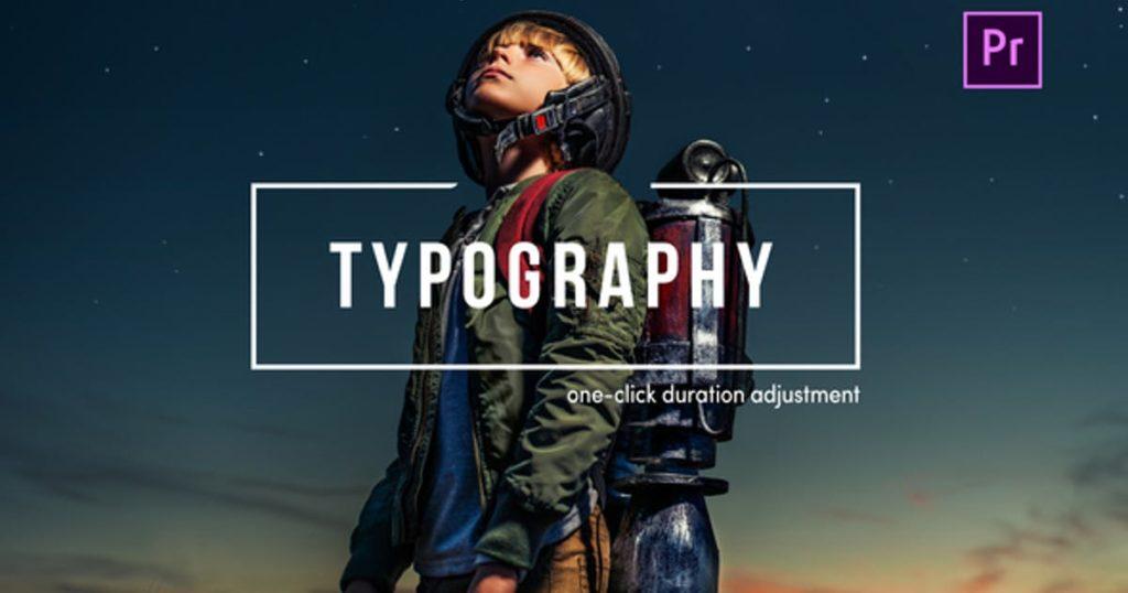 TypoFlow   For Premiere Pro