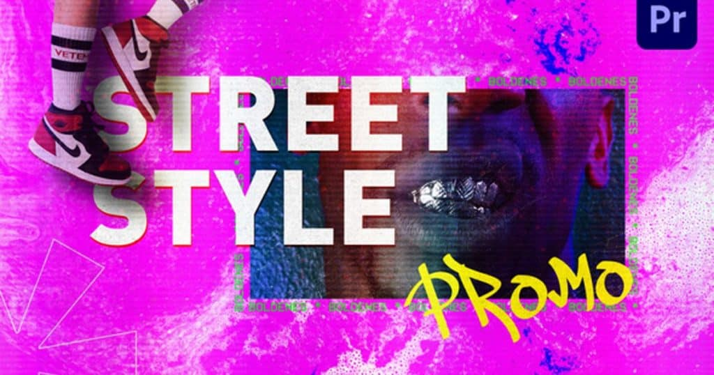 Street Style Promo   Mogrt