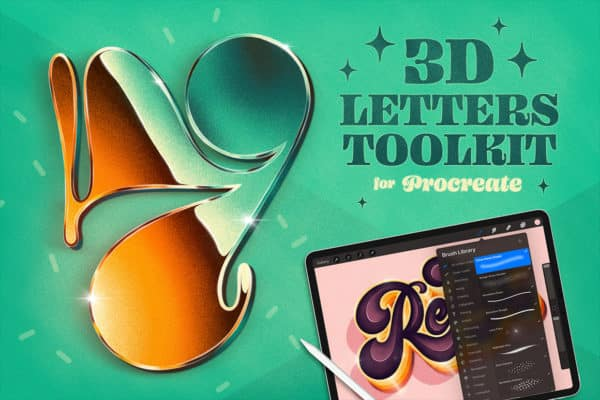 3D Lettering Toolkit