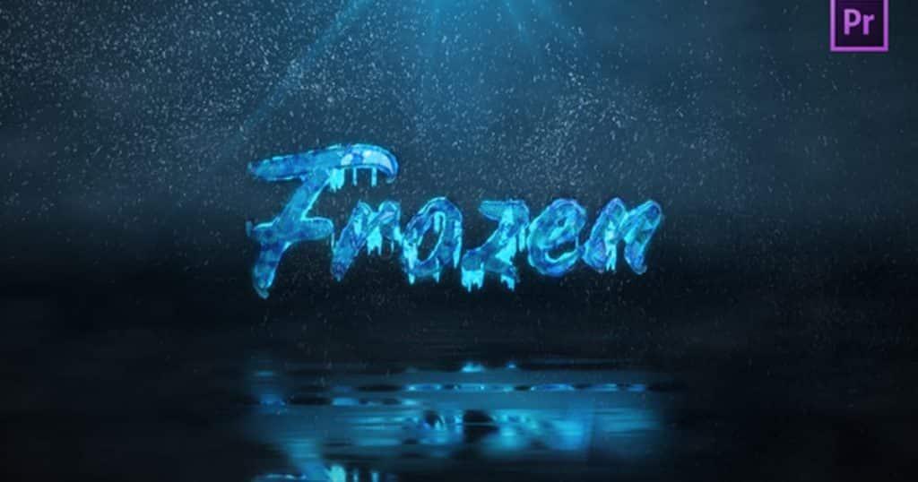 Frozen Winter   Intro Title