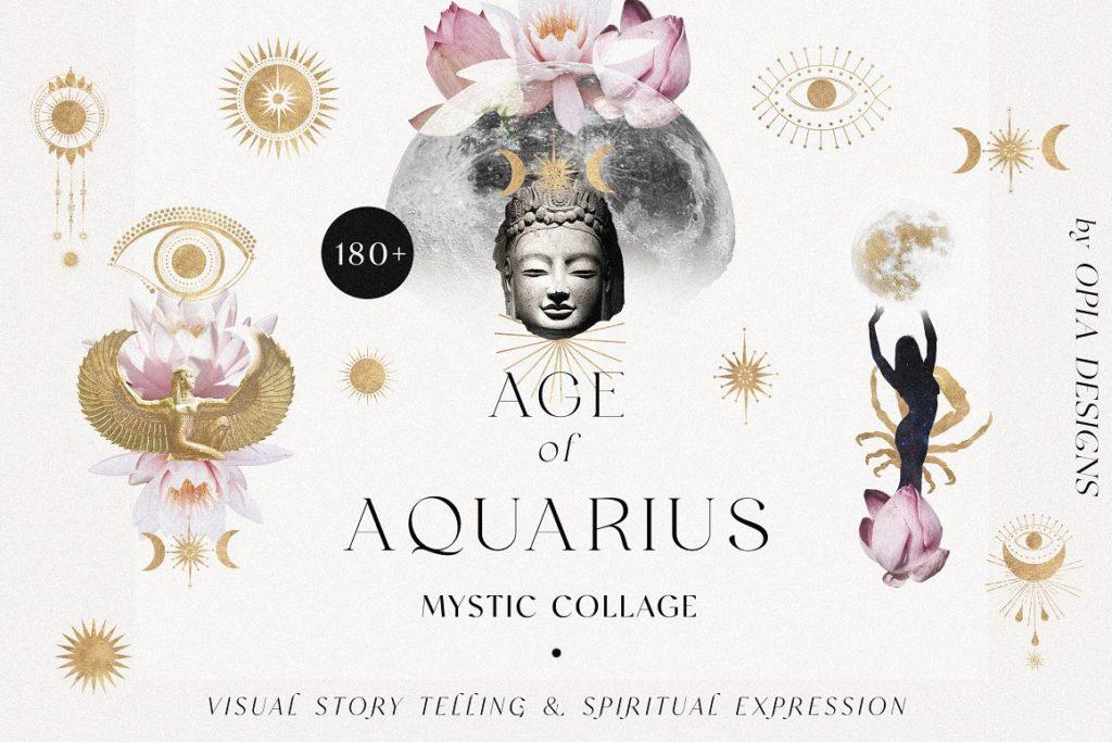 Age of Aquarius – Mystic Collage