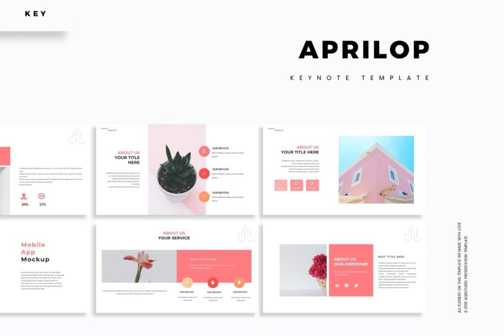Aprilop - Keynote Template