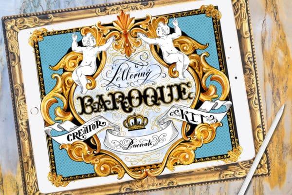 Baroque Lettering Creator Kit