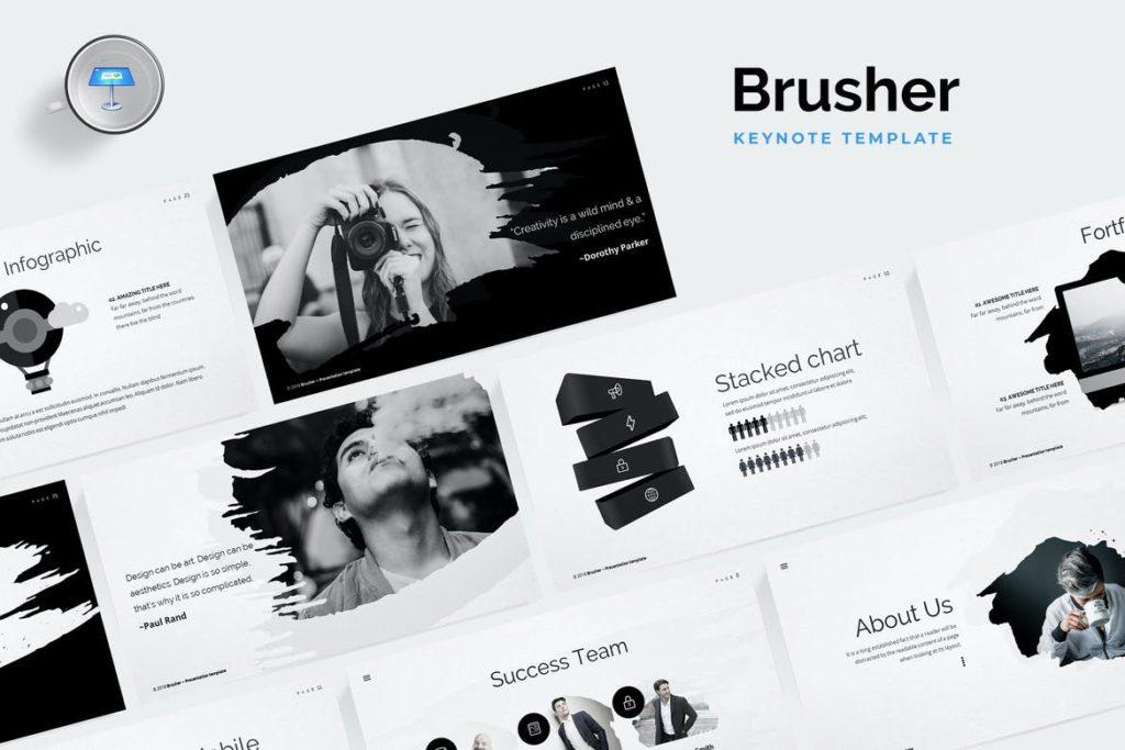 Brusher Keynote Template