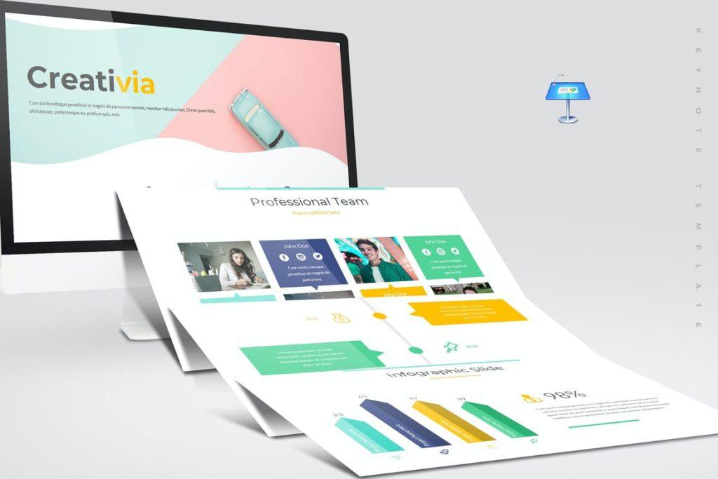 Creativia - Keynote Template
