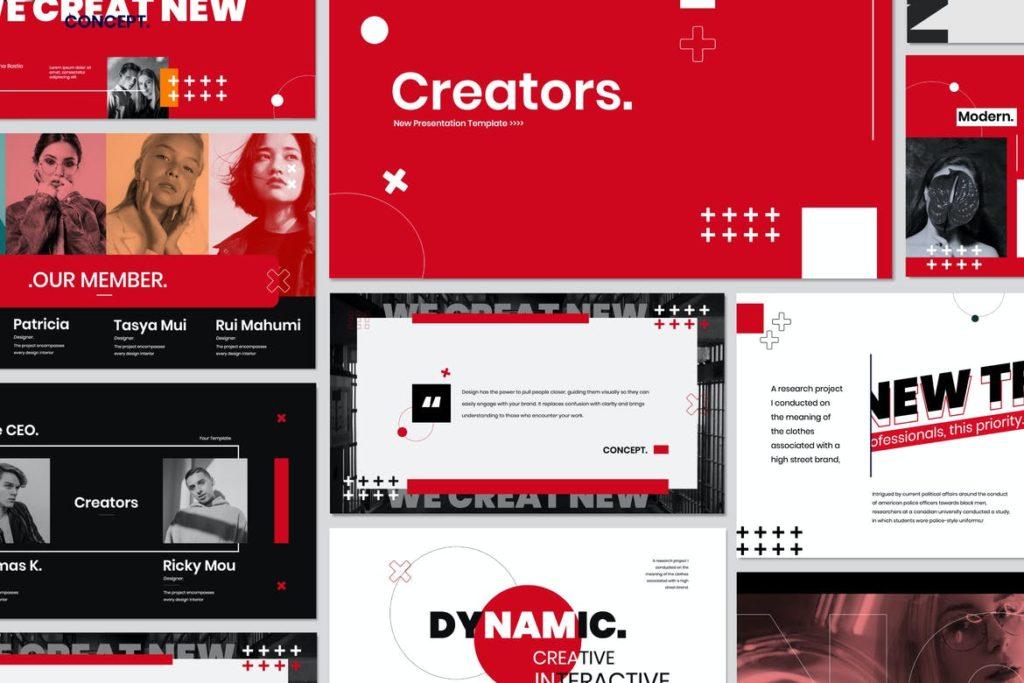 Creator Creative - Keynote Agency Corporate