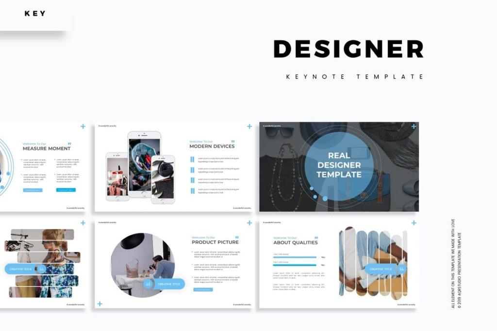 Designer - Keynote Template