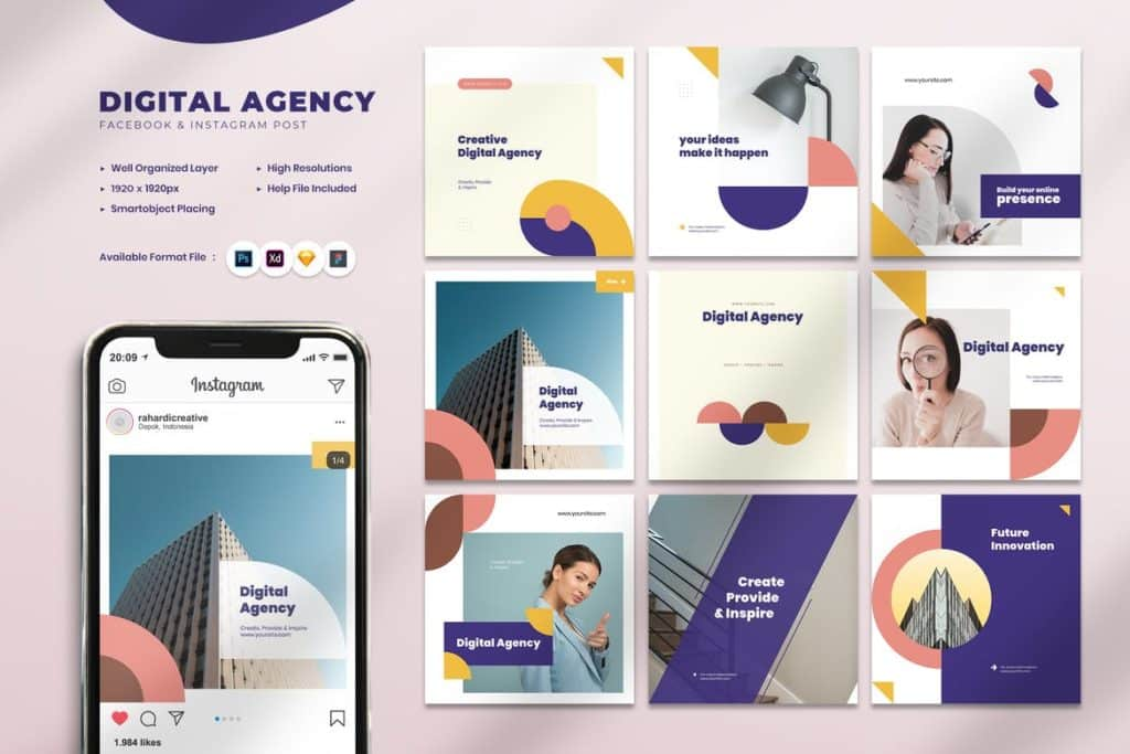 Digital Agency Instagram Post