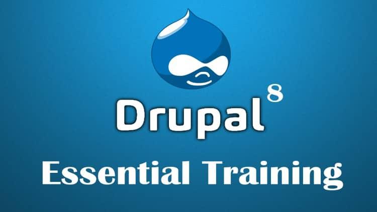 Drupal 8 Essential Training - Part 1