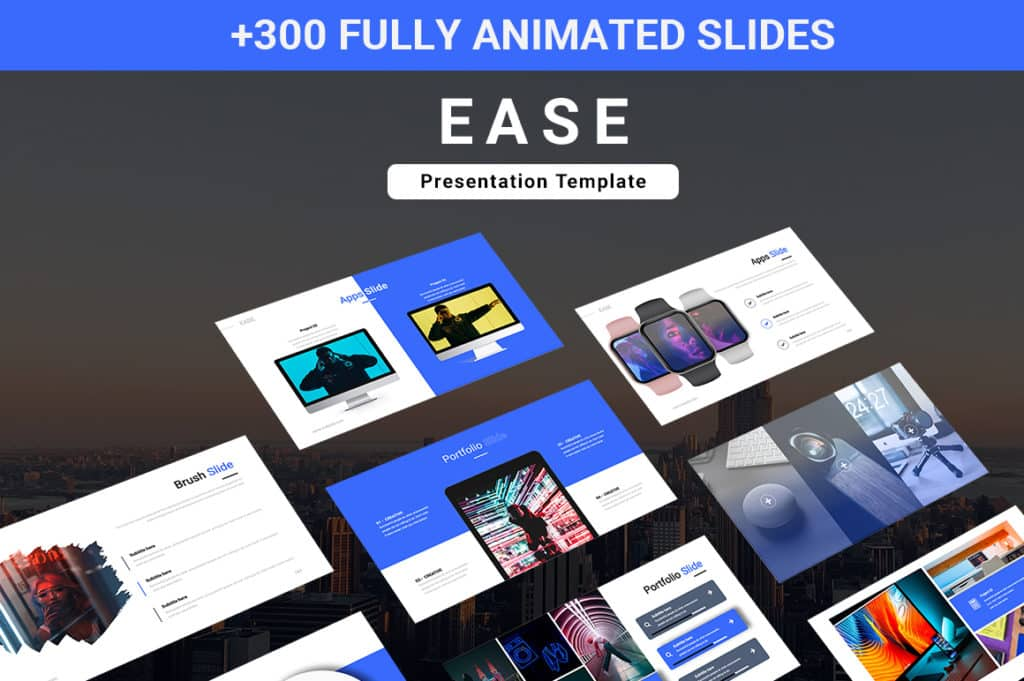 Ease Animated Multipurpose Keynote Template