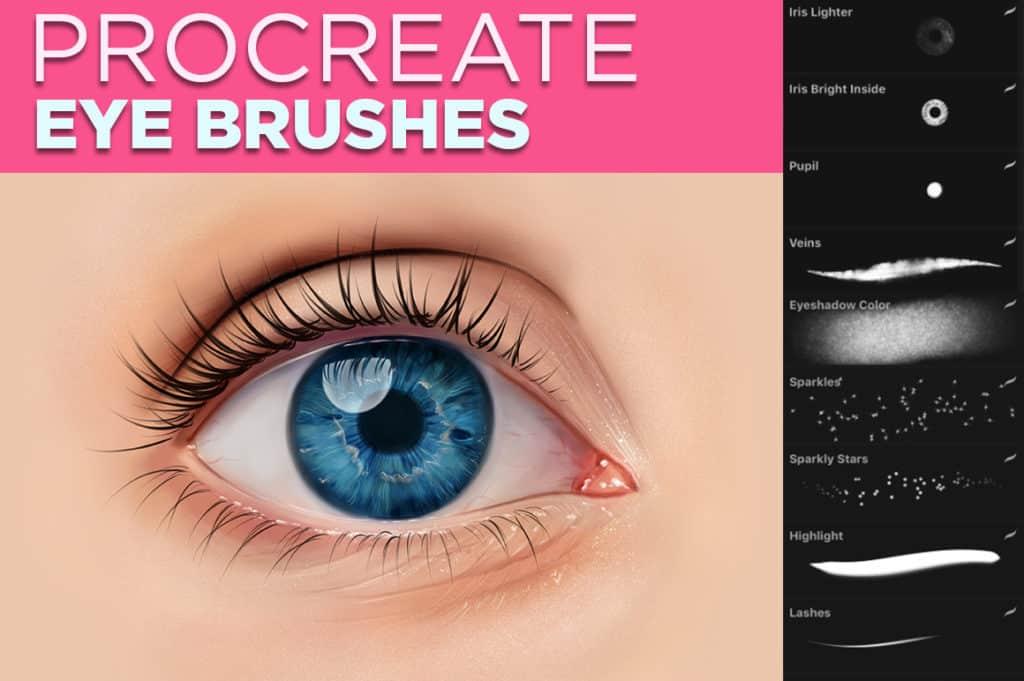 Eye Brushes for Procreate