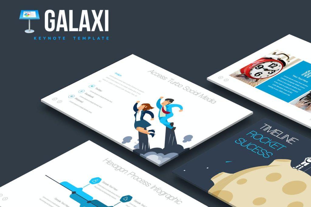 Galaxi Keynote Template