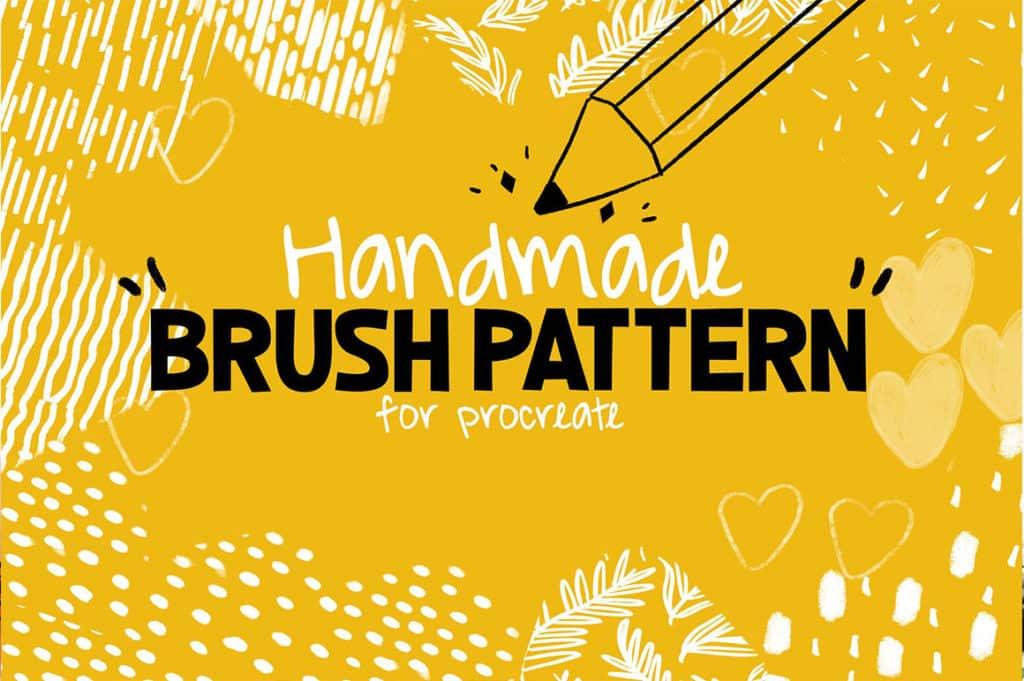 Handmade Brush Pattern For Procreate