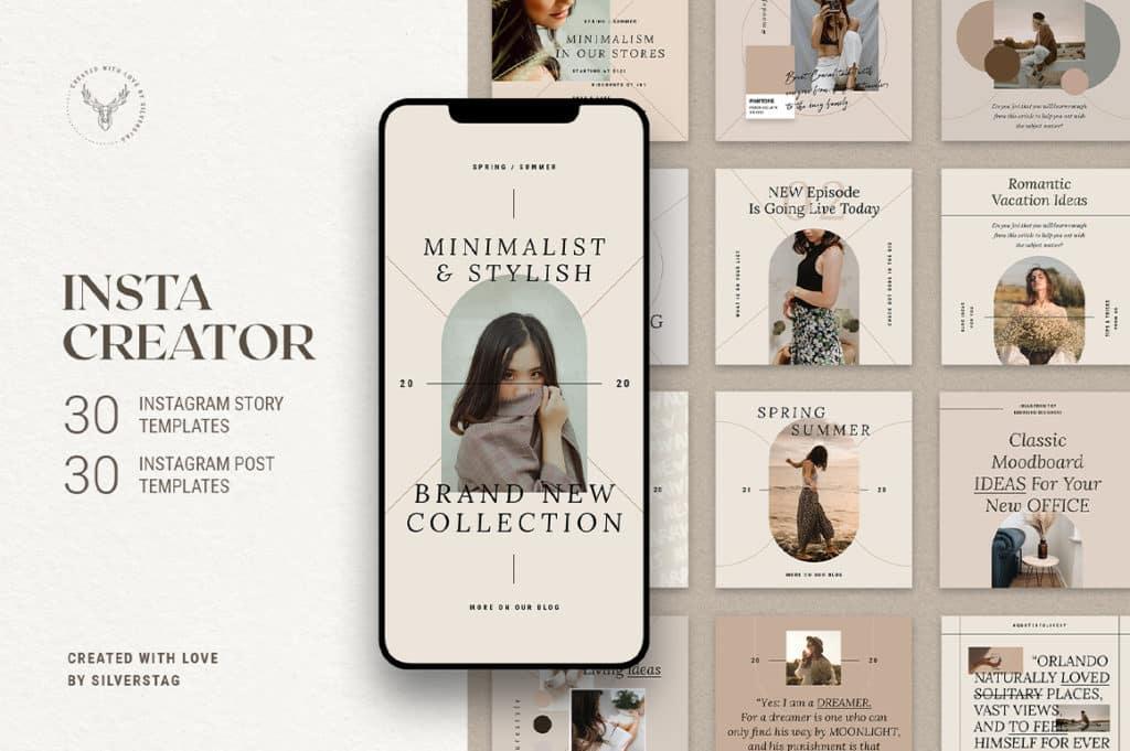 InstaCreator Post & Story Templates