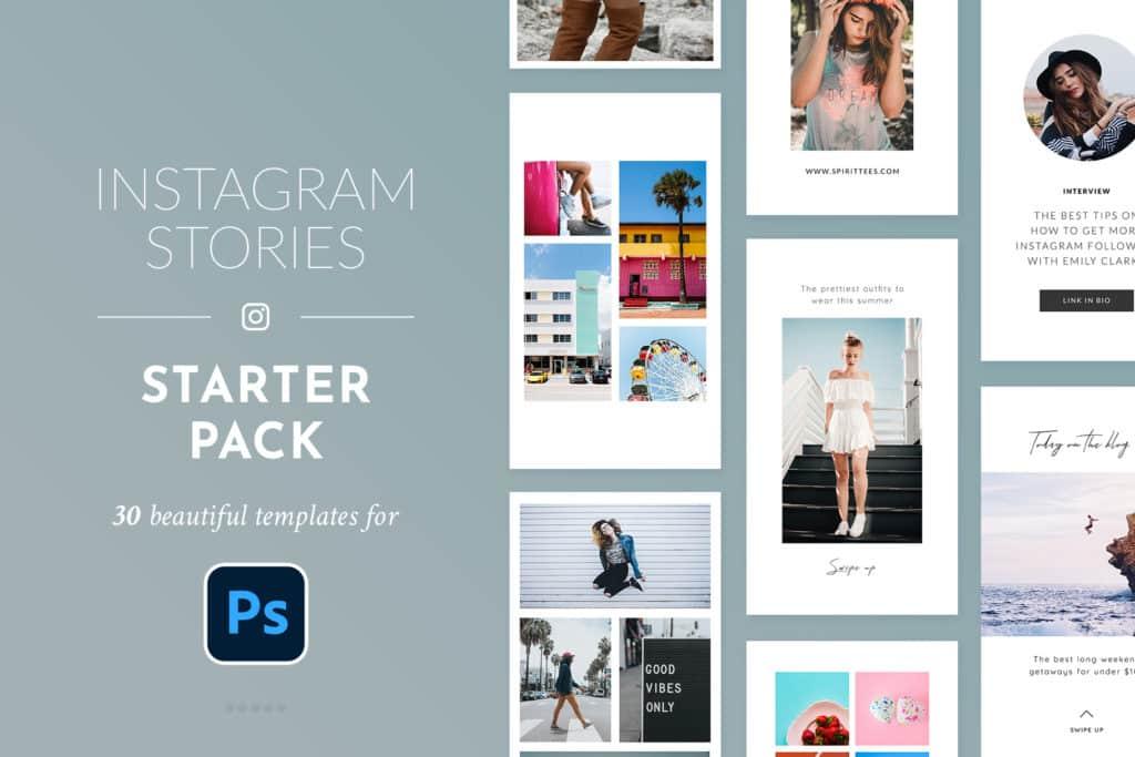 Instagram Stories Starter Pack – Photoshop