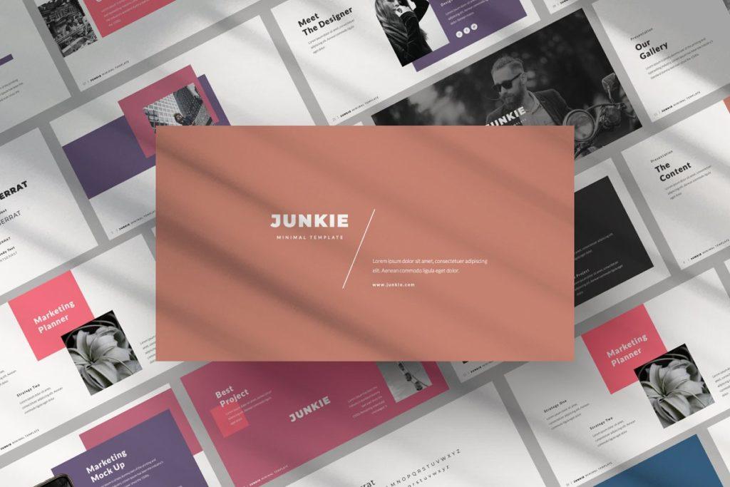 Junkie Keynote Template